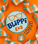 Blippi Circle Applique Design ~ Satin Finish
