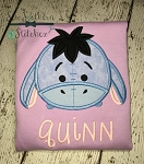 Tsum Tsum Eeyore Applique Head