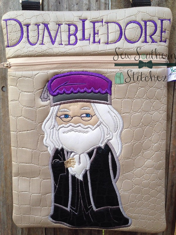 Albus Dumbledore Applique Design ~ Harry Potter Wizard
